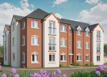Thumbnail 2 bed flat for sale in Bramshall Green, Bramshall, Uttoxeter