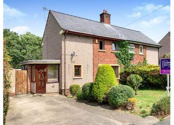Thumbnail 3 bed semi-detached house for sale in Ffordd Ddyfrdwy, Holywell