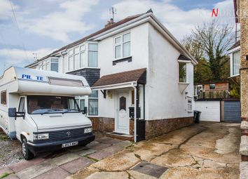 Thumbnail 3 bedroom semi-detached house for sale in Upper Bevendean Avenue, Brighton