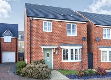 Thumbnail 3 bed detached house for sale in Pomona Way, Peterborough