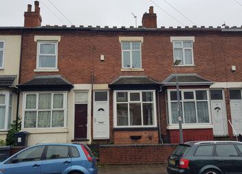 Thumbnail 2 bed terraced house for sale in Newcombe Rd, Handsworth