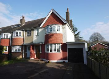 Thumbnail 3 bed semi-detached house for sale in Park Avenue, Enfield
