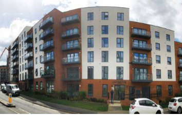 Thumbnail 1 bed flat for sale in Apex Apartments, West Green Drive, Crawley, West Sussex