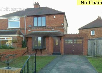 Thumbnail 2 bed semi-detached house for sale in Woodlea Grove, Armthorpe, Doncaster.