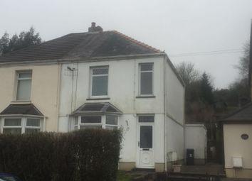 Thumbnail 3 bed semi-detached house to rent in Main Road, Dyffryn Cellwen, Neath