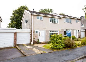 Thumbnail 3 bedroom semi-detached house for sale in Cannerton Crescent, Milton Of Campsie, Glasgow