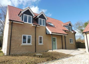 Thumbnail 4 bedroom detached house for sale in Plough Road, Whittlesey, Peterborough