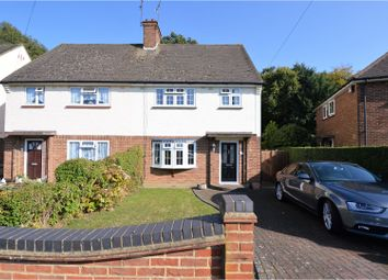 Thumbnail 3 bed semi-detached house for sale in Hawthorn Avenue, Brentwood