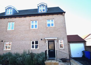 Thumbnail 4 bed semi-detached house for sale in Reef Close, Warsop, Mansfield
