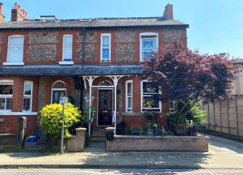 Thumbnail 3 bed end terrace house for sale in Borough Road, Altrincham