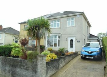 Thumbnail 3 bed semi-detached house for sale in Lon Mafon, Sketty, Swansea