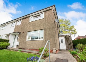 Thumbnail 3 bed semi-detached house for sale in Derwen Way, Abergavenny