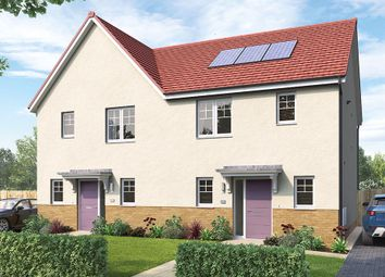 """Thumbnail 3 bed semi-detached house for sale in """"The Haddington"""" at Aurs Road, Barrhead, Glasgow"""