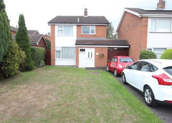 Thumbnail 3 bed detached house for sale in Hornbeam Road, Newbold Verdon, Leicester