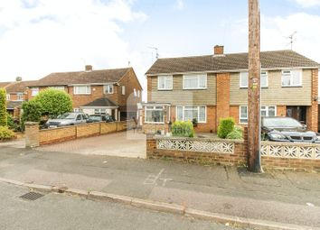 Thumbnail 3 bedroom semi-detached house for sale in Sawtry Close, Luton