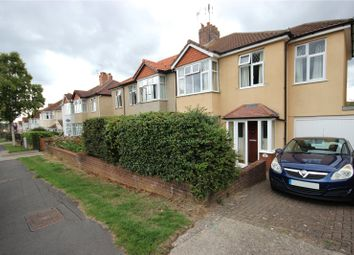 Thumbnail 4 bed semi-detached house for sale in West Broadway, Henleaze, Bristol