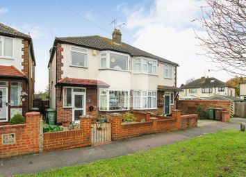 Thumbnail 3 bed semi-detached house for sale in Moira Close, Luton