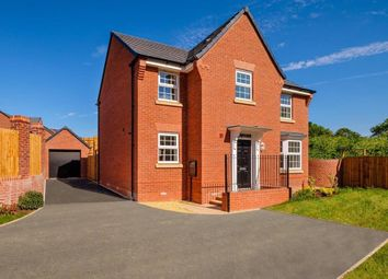 "Thumbnail 4 bed detached house for sale in ""Mitchell"" at Sorrel Close, Uttoxeter"