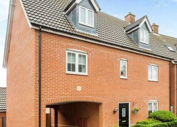 Thumbnail 5 bed detached house to rent in Haggerwood Way, Stansted