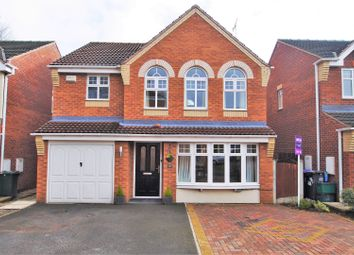 Thumbnail 4 bed detached house for sale in Brander Close, Woodfield Plantation, Doncaster