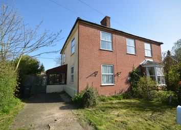 Thumbnail 2 bedroom semi-detached house for sale in Flaxlands, Carleton Rode, Norwich
