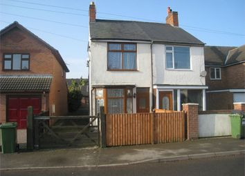 Thumbnail 2 bedroom semi-detached house for sale in Huncote Road, Stoney Stanton, Leicester