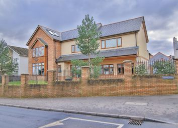Thumbnail 7 bed detached house for sale in Llwyn Y Pia Road, Lisvane, Cardiff