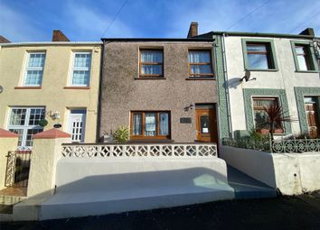 Thumbnail 3 bed terraced house for sale in Cromwell Road, Milford Haven, Pembrokeshire
