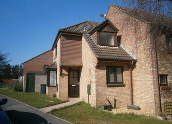 Thumbnail 1 bed end terrace house to rent in Tollard Close, Poole