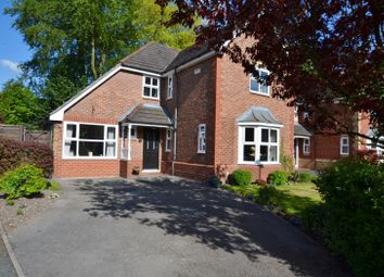 Thumbnail 4 bed detached house for sale in Hawthorn Villas, Holmes Chapel, Crewe