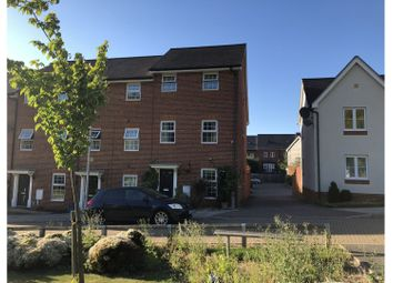 Thumbnail 4 bed end terrace house for sale in Sarafand Grove, Rochester