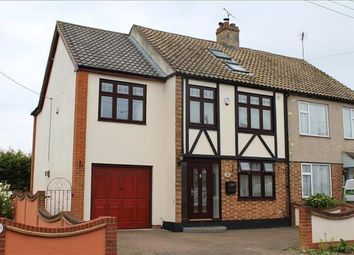 Thumbnail 4 bed semi-detached house for sale in Fairview Road, Basildon