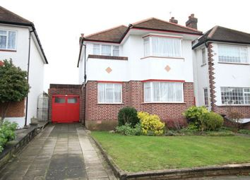 Thumbnail 3 bed detached house for sale in Prince George Avenue, Southgate, London