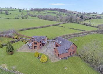 Thumbnail 4 bed detached house for sale in Llanfechain