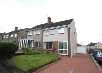 Thumbnail 3 bed semi-detached house for sale in Woodhill Road, Bishopbriggs, Glasgow, East Dunbartonshire