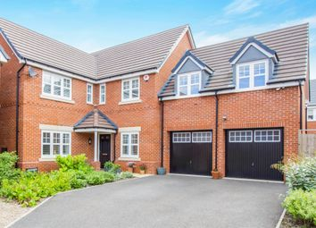 Thumbnail 5 bed detached house for sale in Massey Close, Coventry