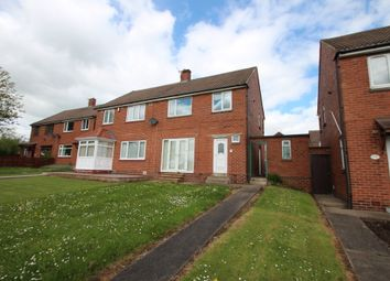 Thumbnail 3 bed semi-detached house to rent in Brancepeth Road, Ferryhill