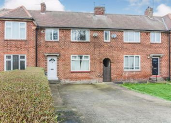 Thumbnail 3 bed terraced house for sale in Newminster Road, Fenham, Newcastle Upon Tyne