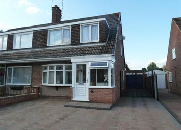 Thumbnail 3 bed semi-detached house for sale in Dalton Road, Bedworth