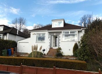 Thumbnail 3 bed detached bungalow to rent in First Avenue, Bearsden