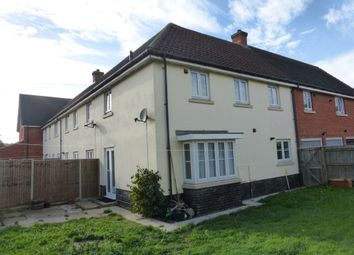 Thumbnail 3 bed terraced house for sale in Petersfield Close, Long Stratton, Norwich