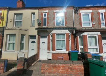 Thumbnail 2 bed terraced house to rent in King Georges Avenue, Coventry