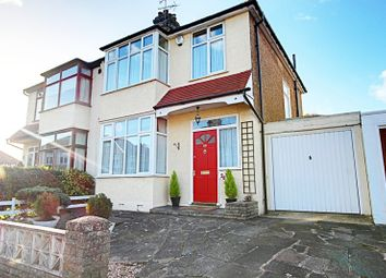 Thumbnail 3 bed property for sale in Hillside Crescent, Enfield