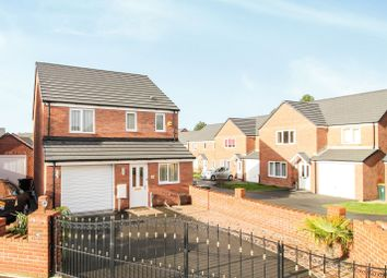 Thumbnail 3 bed detached house for sale in Cefn Adda Close, Newport
