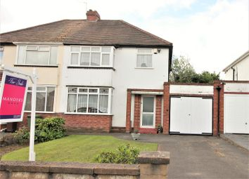 Thumbnail 3 bed semi-detached house for sale in Hornby Road, Goldthorn Park, Wolverhampton