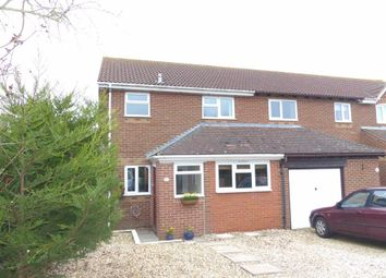 Thumbnail 3 bed end terrace house for sale in Elziver Close, Weymouth, Dorset