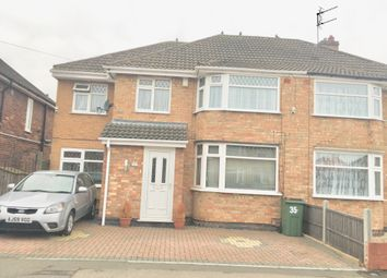Thumbnail 4 bed semi-detached house for sale in Westfield Avenue, Leicester