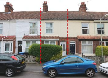 Thumbnail 3 bed terraced house for sale in 50 Vincent Road, Norwich, Norfolk