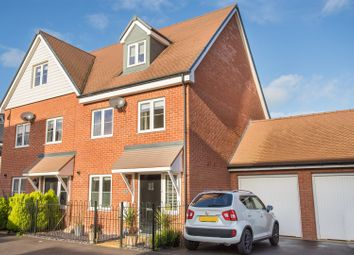 Thumbnail 3 bed semi-detached house for sale in Crawford Road, Aylesbury