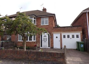 Thumbnail 3 bed semi-detached house for sale in Hazel Drive, Braunstone Town, Leicester, Leicestershire
